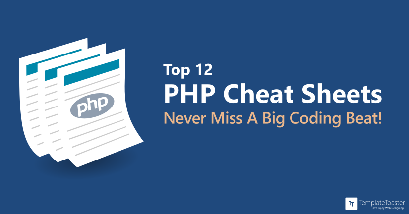 Top 12 PHP Cheat Sheets Never Miss A Big Coding Beat