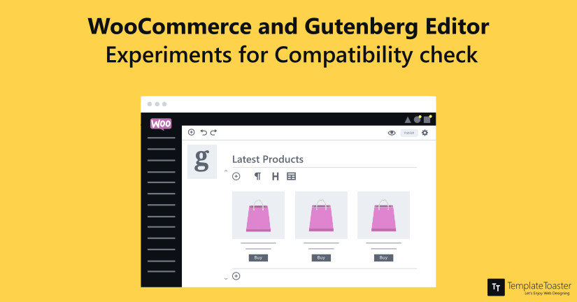 woocommerce and gutenberg editor experiments for compatibility check