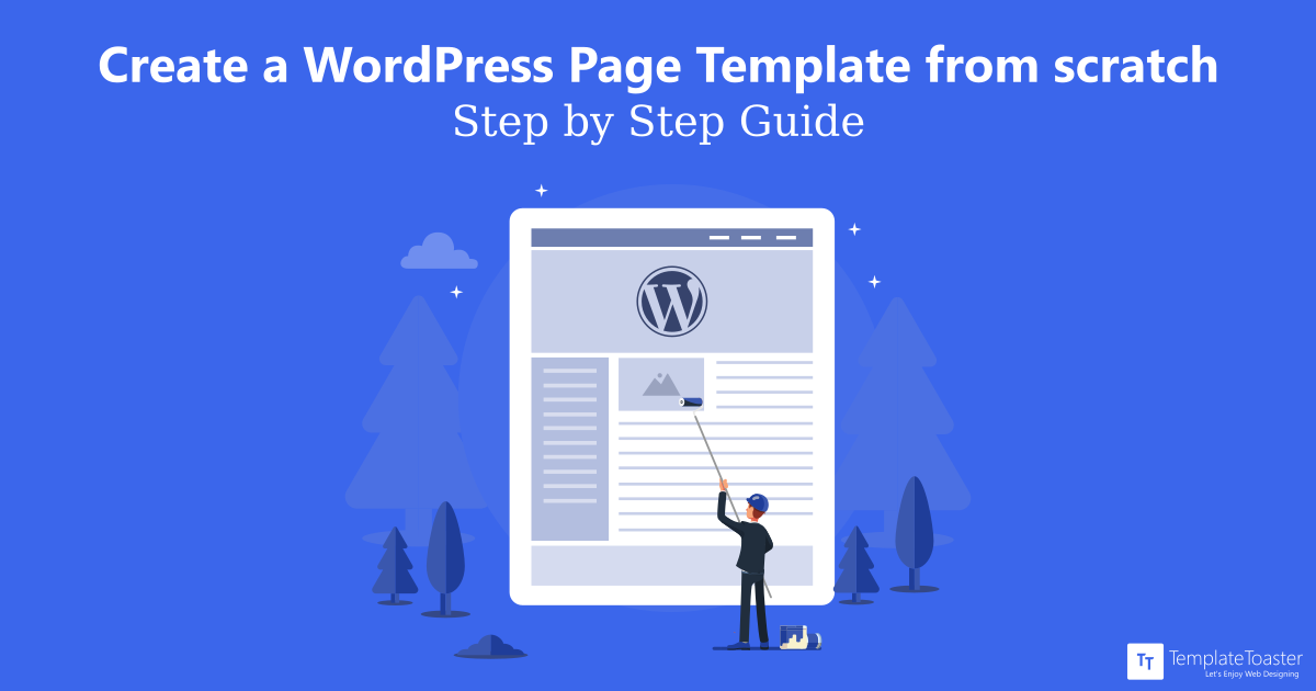 How To Create A WordPress Page Template From Scratch Tutorial For Beginners