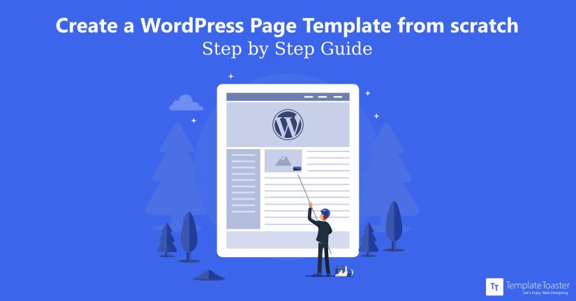 create wordpress page template tutorial