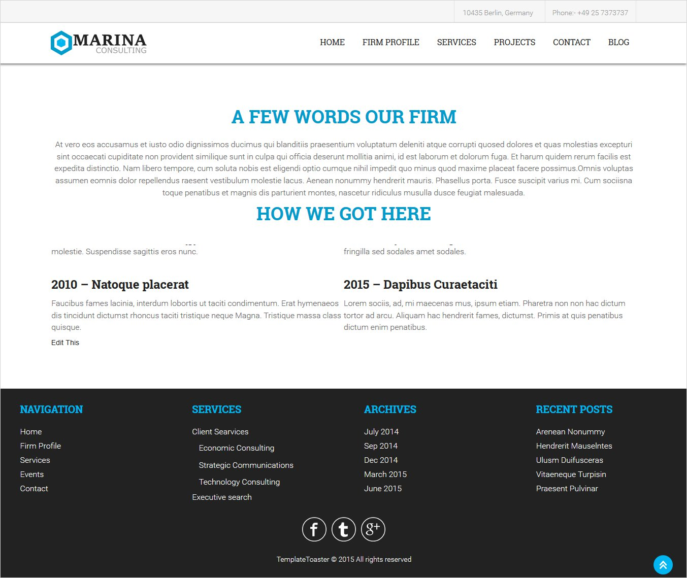 final page preview wordpress page template