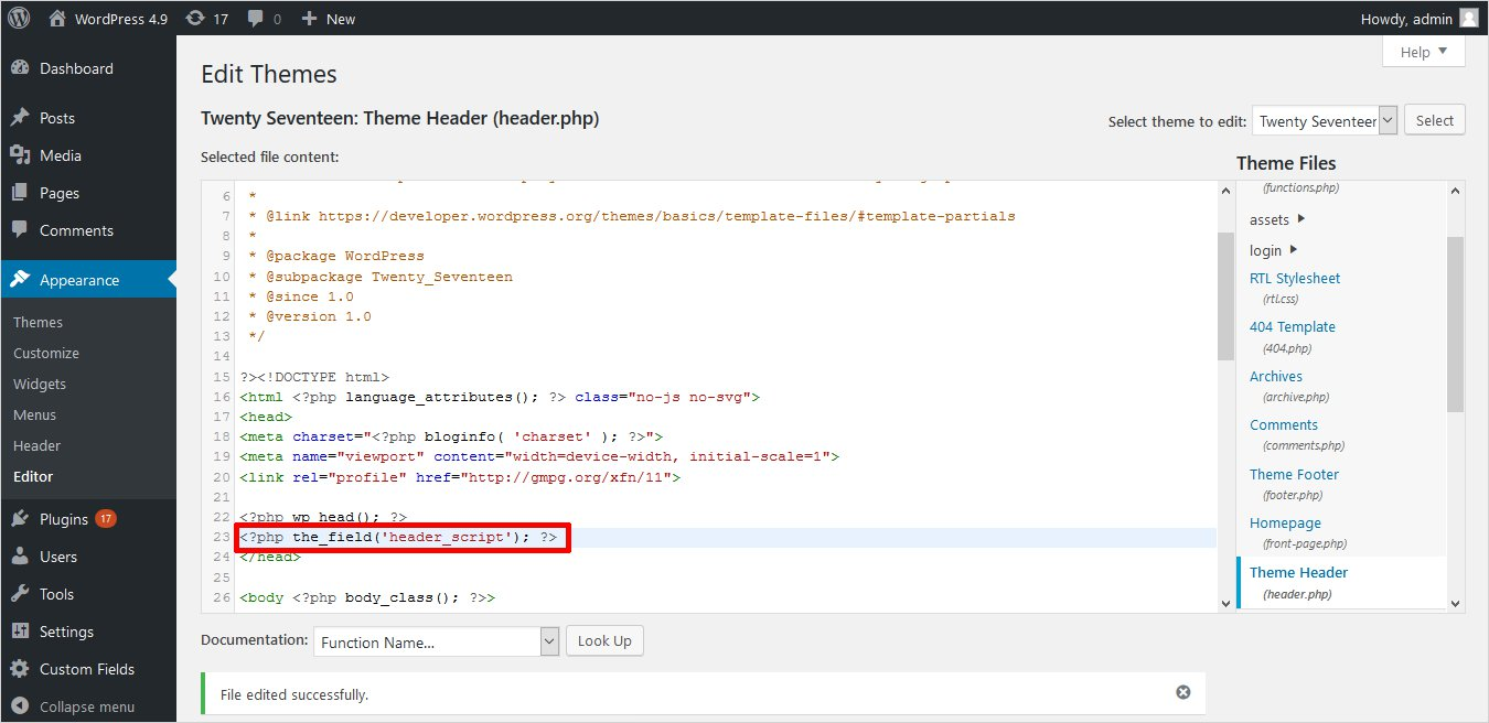 How To Add Javascript And Jquery To Wordpress Templatetoaster Blog