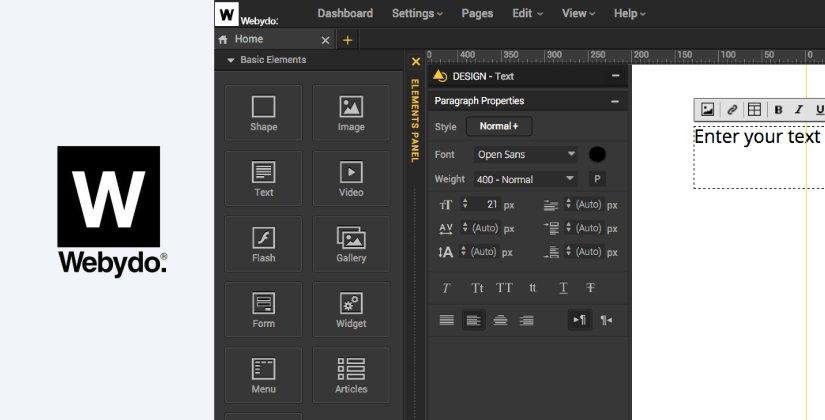 webydo web design software list 2018 blog