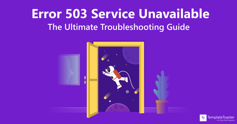 error 503 service unavailable fix blog