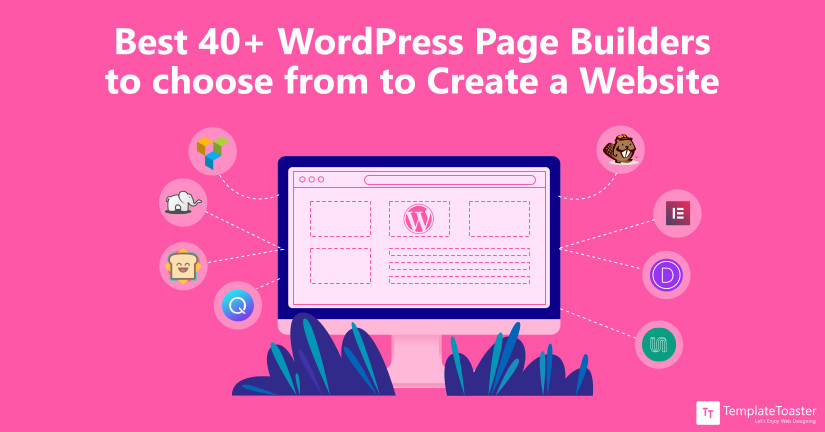ultimate list of WordPress page builders blog