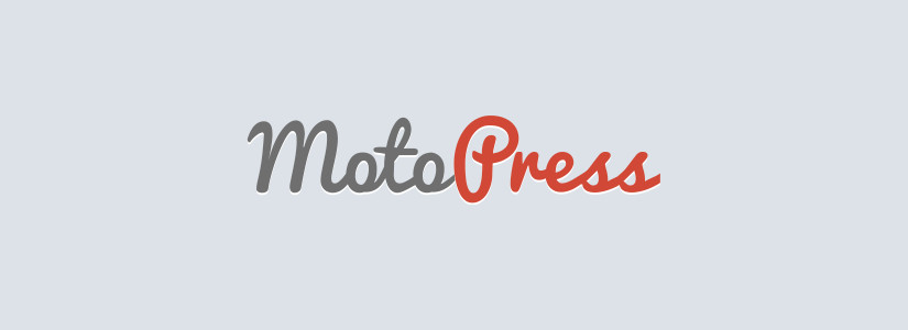 moto press page builder blog