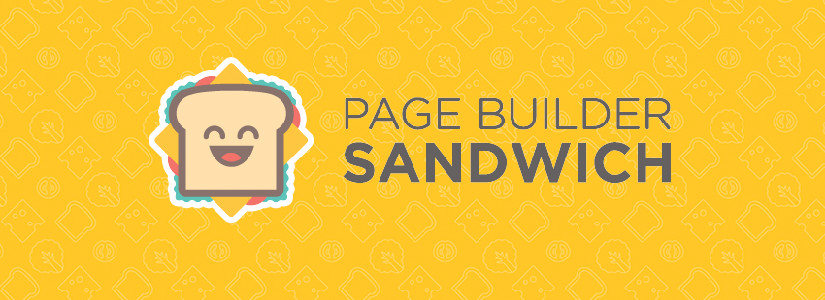 sandwich page builder blog