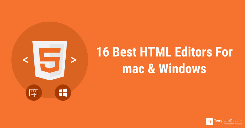 16 Best Free HTML Editors in 2019 - TemplateToaster Blog