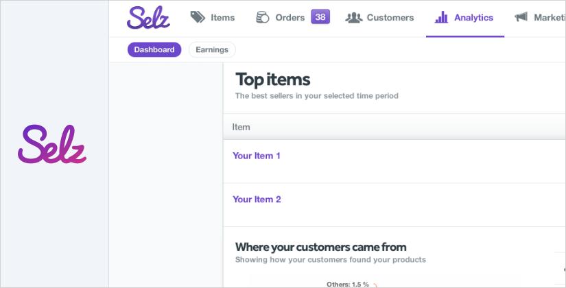 selz best ecommerce platform and software