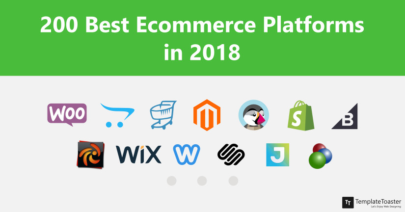 200 Best Ecommerce Platforms in 2018 Blog