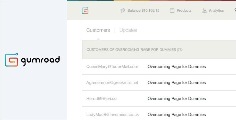 gumroad best ecommerce platform and software