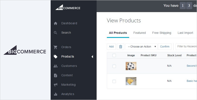 bigcommerce best ecommerce platform and software
