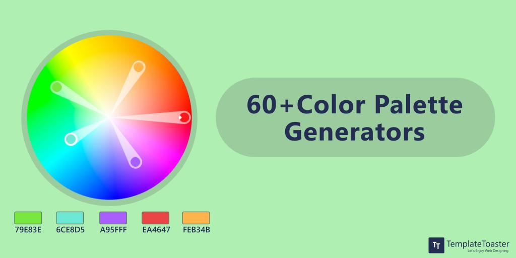 60 Color Palette Generators for Web Designing - TemplateToaster Blog