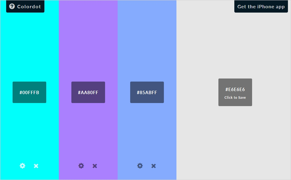 60 Color Palette Generators For Web Designing