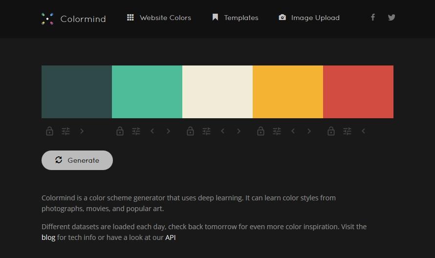 60 Color Palette Generators For Web Designing Templatetoaster Blog