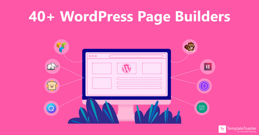 40+ WordPress Page Builders