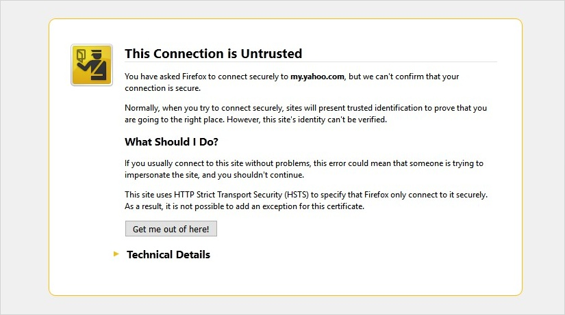 ssl certificate has expired
