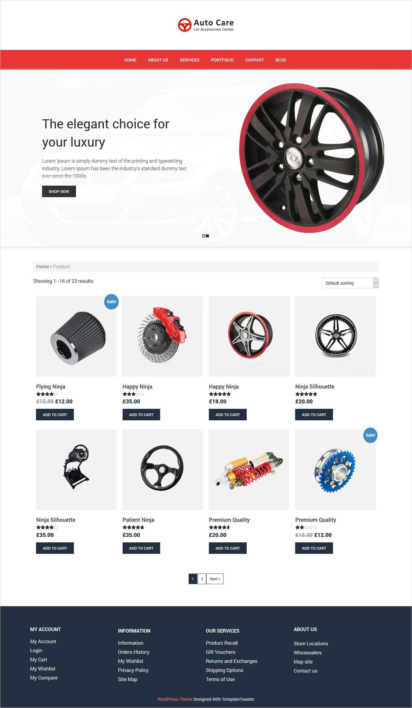 woocommerce theme from templatetoaster