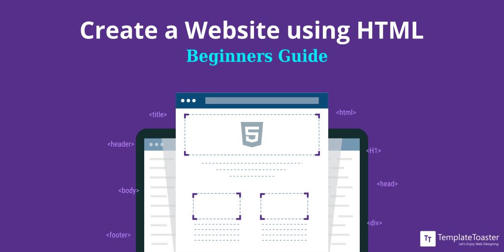 Create A Website Using Html Templatetoaster Blog