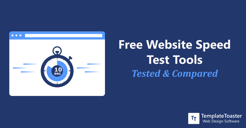 free website speed test tools tested & compared