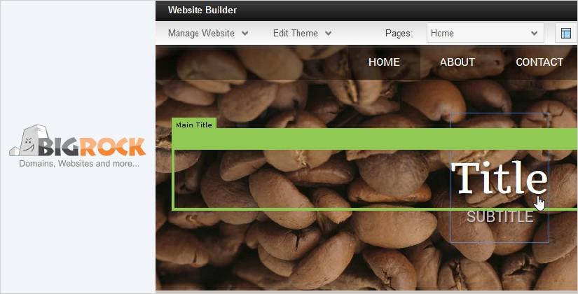 bigrock best website builder