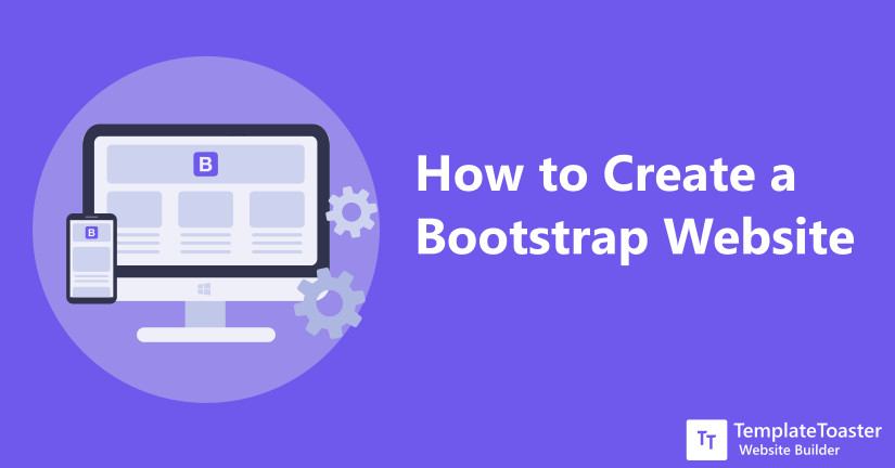How to Create Bootstrap Website - Tutorial for Beginners