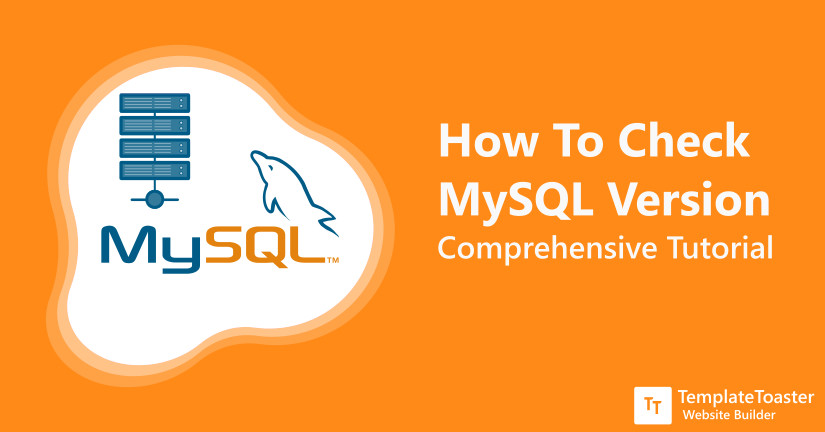 How To Check MySQL Version : Detail Tutorial - TemplateToaster Blog