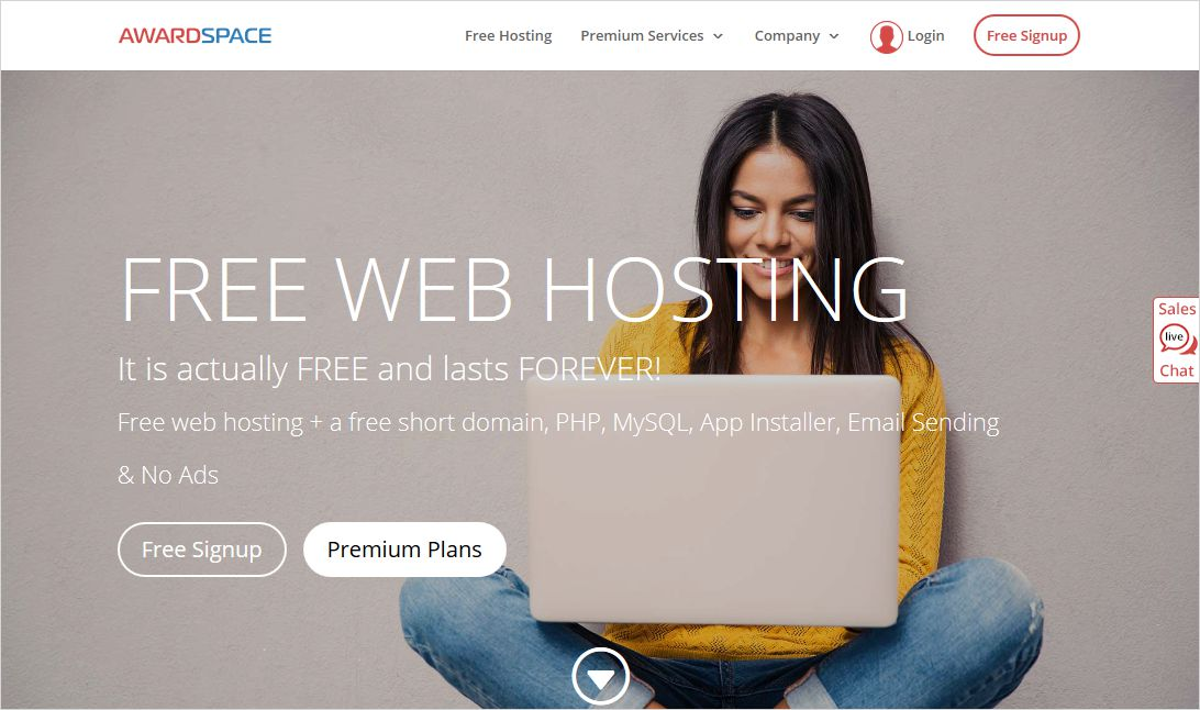 AwardSpace Free WordPress Hosting