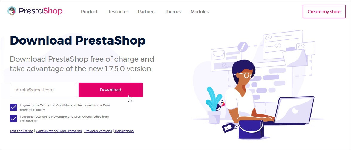 how to install prestashop