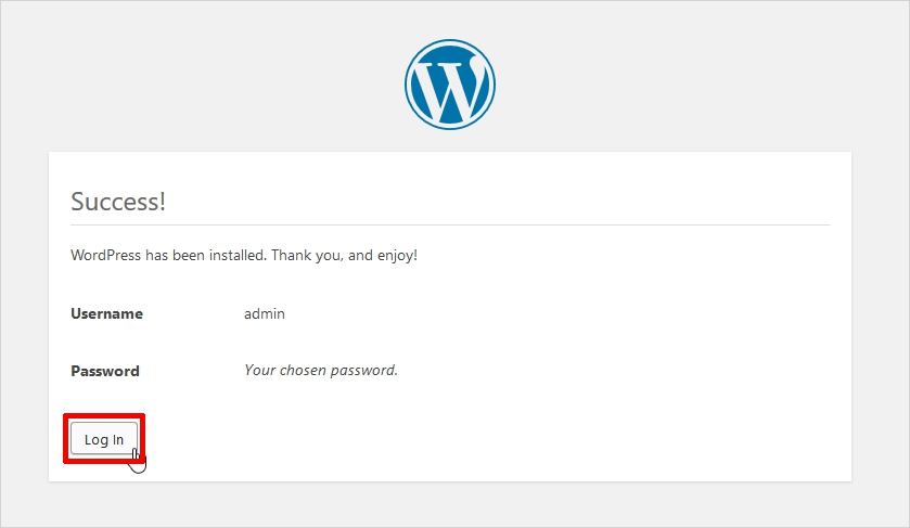 easy steps to install wordpress