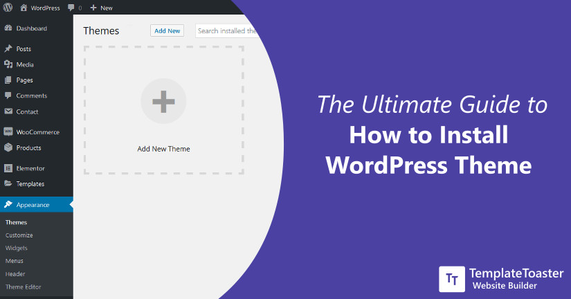 How to Install WordPress Theme