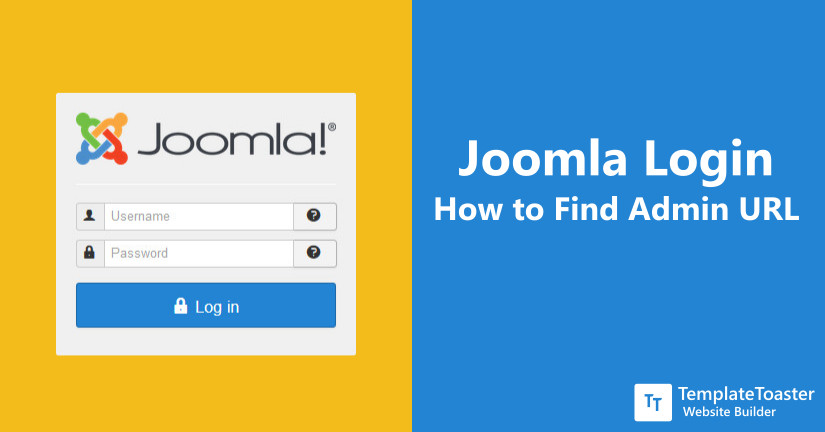 Joomla Login - How to Find Admin URL