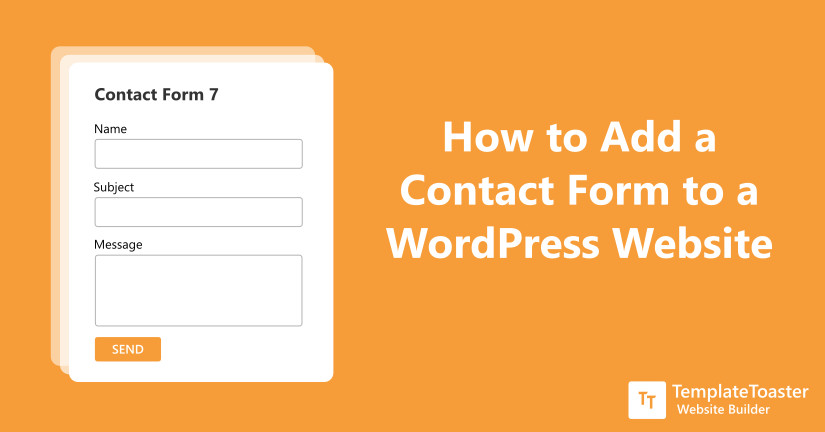 How to Add a WordPress Contact Form