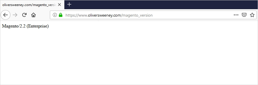 How to Check Magento Version from Site URL
