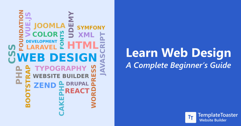 Learn Web Design - A Complete Beginner's Guide to Get Started