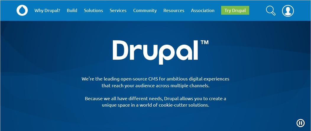 drupal open source cms