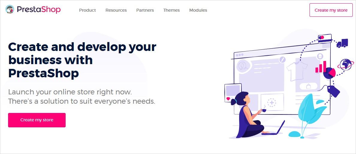 prestashop open source cms