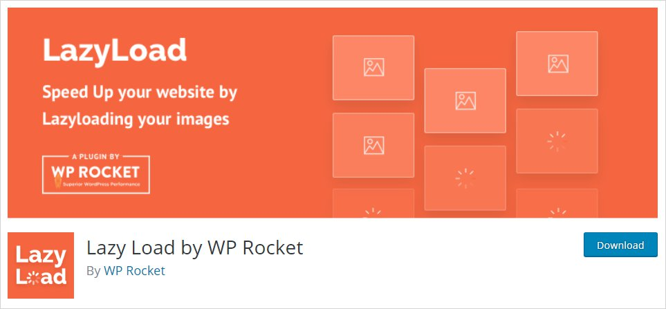 Lazy Load by WP Rocket Plugin