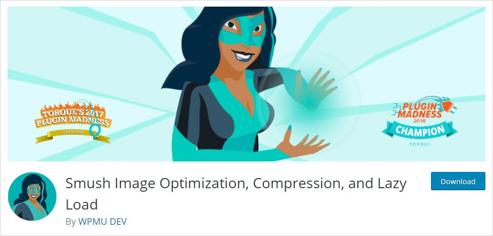 Smush Image Optimization WordPress Plugin