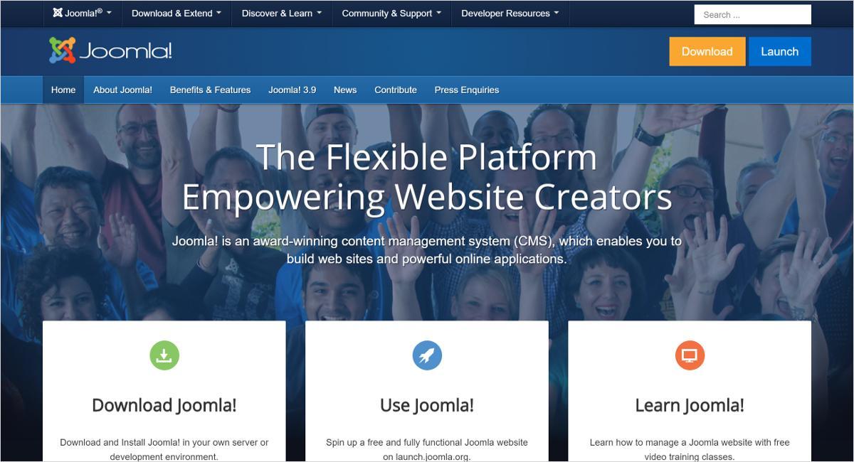 joomla blog site
