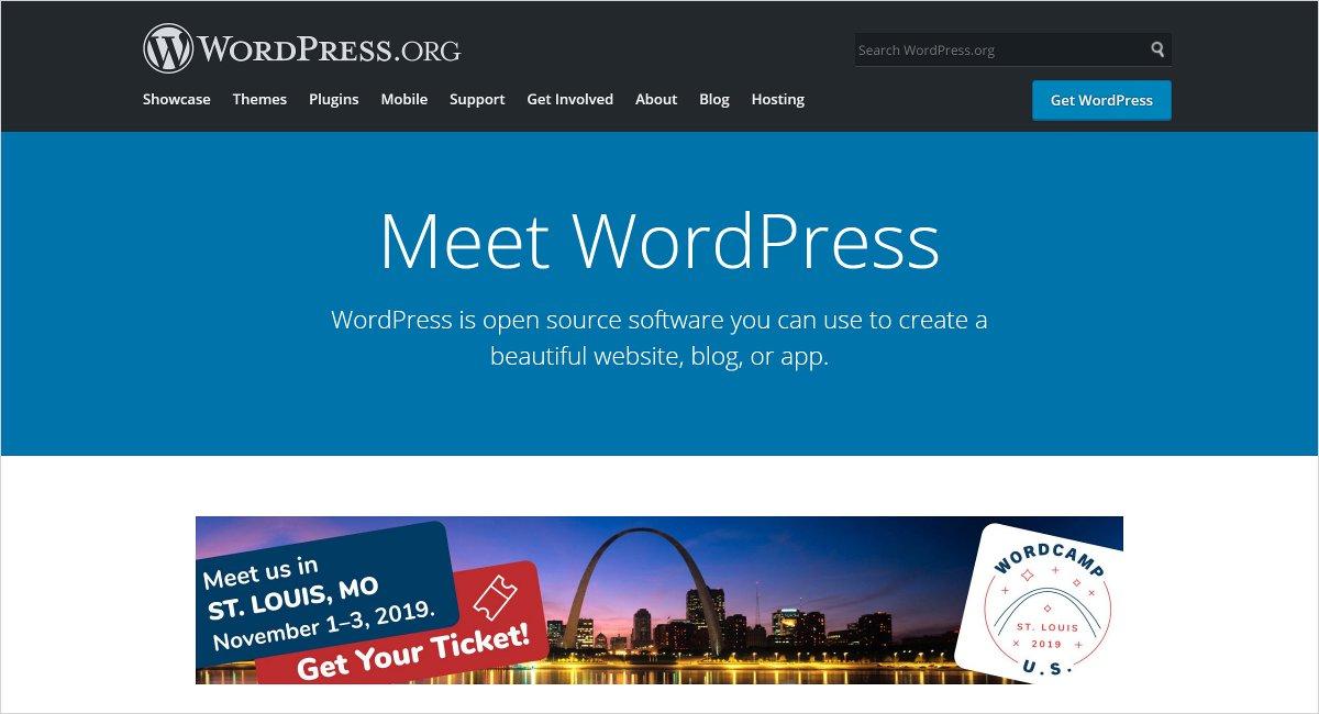wordpress.org blog site