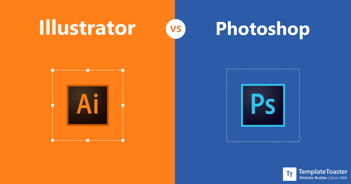 Illustrator Vs Photoshop When And Why To Use Each Program Templatetoaster Blog