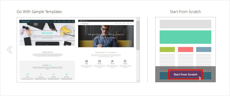 build church website