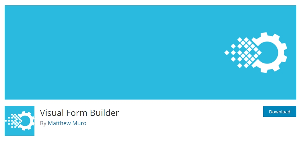 visual form builder for wordpress