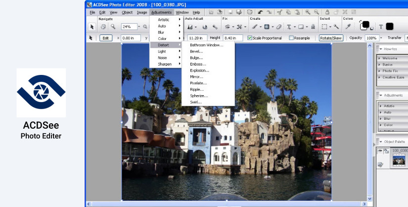 ACDSee photo editing software program