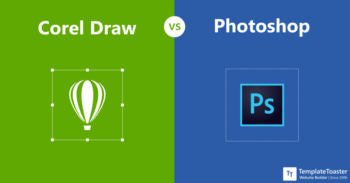 Coreldraw Vs Photoshop When And Why To Use Each Program Templatetoaster Blog