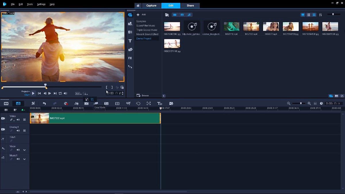 corel videostudio video editing software