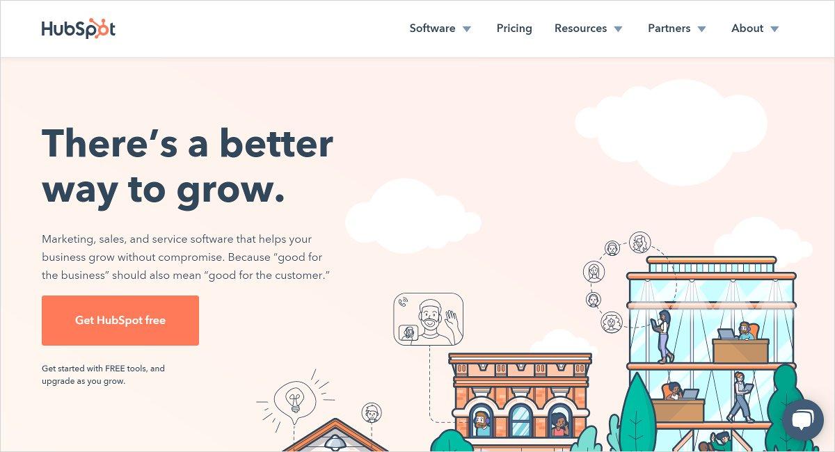 Hubspot digital marketing tools