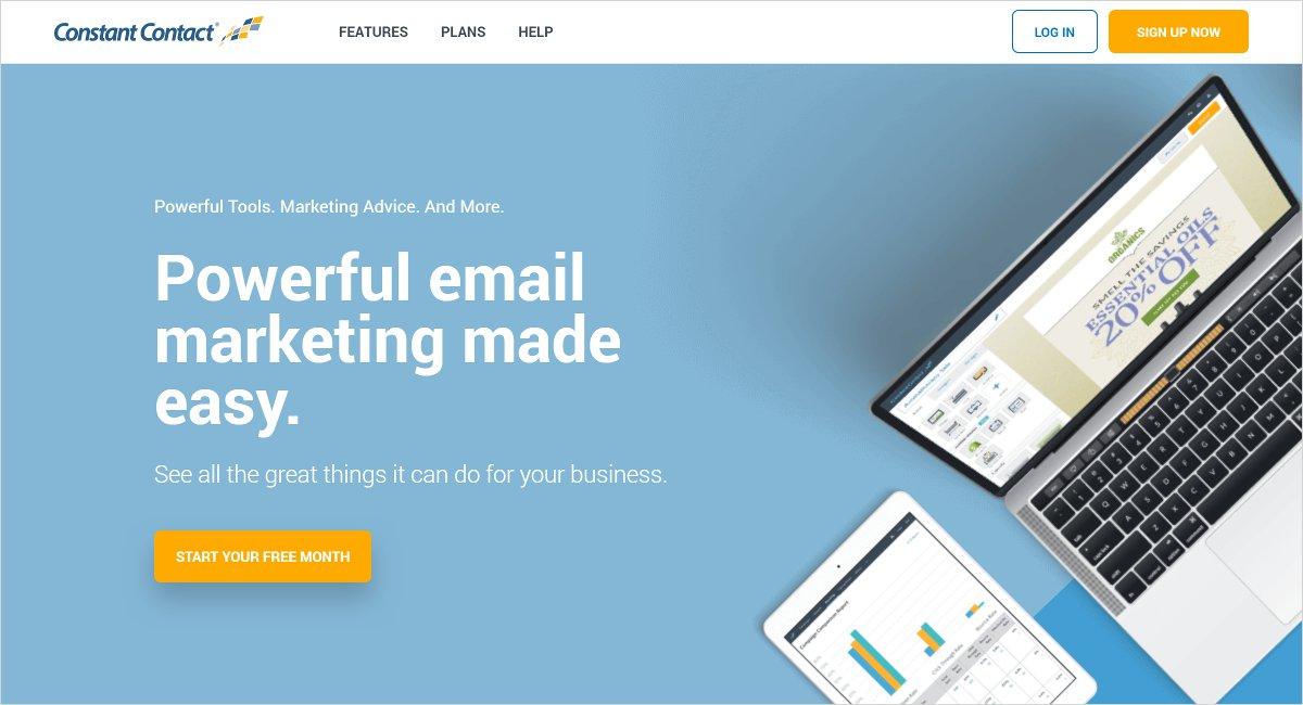 constant contact digital marketing tool