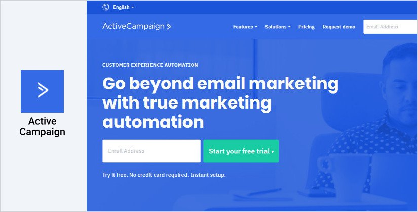 ActiveCampaign email marketing software